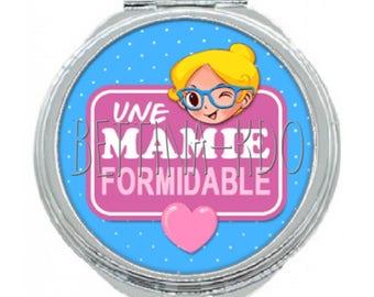 "Pocket mirror ""a great Grandma"""