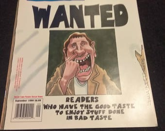 Hustler humor Sept 99