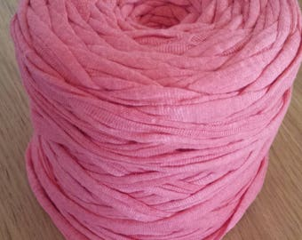 COTTON JERSEY FABRIC PINK BY THE YARD