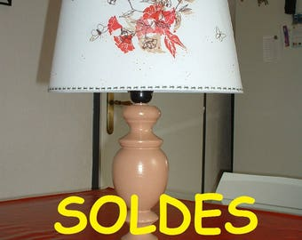 SHABBY CHIC style wooden lamp - base