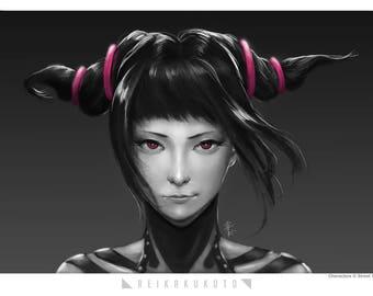 Street Fighter - Juri Han