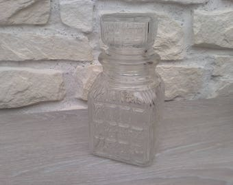 Kitchen vintage decor glass jar