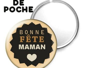 Mirror - badge - 56mm - mother's day.