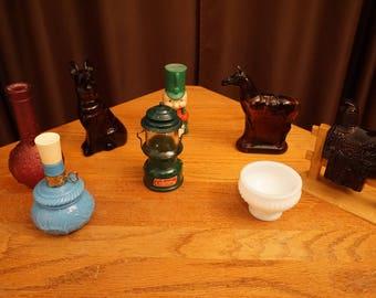 Vintage Avon Bottle Collection