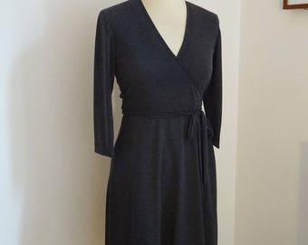 Dress hides heart grey mesh