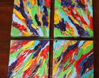 Foursome - Set of four 4x6 (8x12)