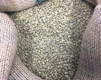 Ethiopia Sidamo GR2 (Washed) - Unroasted Green Coffee Beans