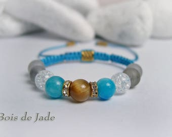Bracelet women stones and Strass reference BJ-119