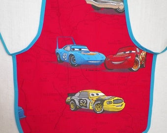 Apron for child's CARS
