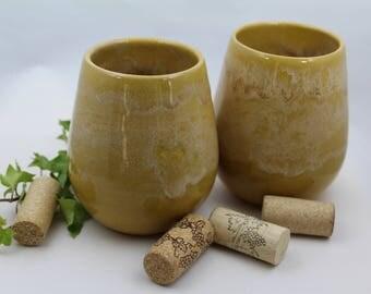 Ceramic Wine Cup 12oz
