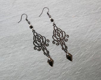 Designer earrings - Baroque earrings