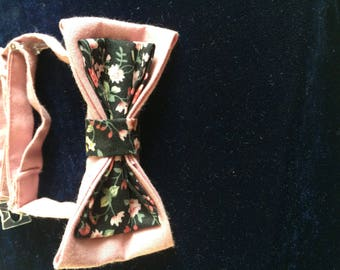 lined and adjustable bow tie