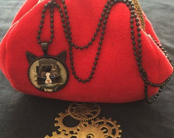 wallet, retro, vintage, steampunk art