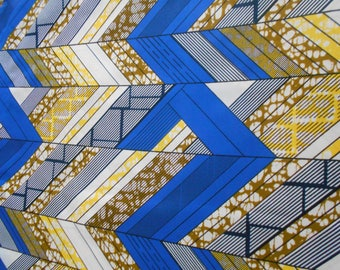 Wax fabric African loincloth coupon 45 cm x 55 cm