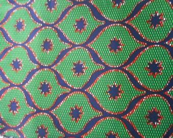 Wax fabric African loincloth coupon 90 cm x 116cm