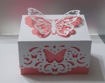 Gift box pretty Butterfly