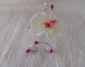 Aluminium wedding or bridesmaid bracelet