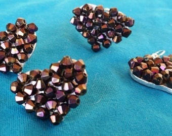 Jewelry Set, art nouvaue,bronze,bronze stone, stone,silver bracelet,earrings,silver earrings,silver ring,ring, bracelet,handmade, exclusive.
