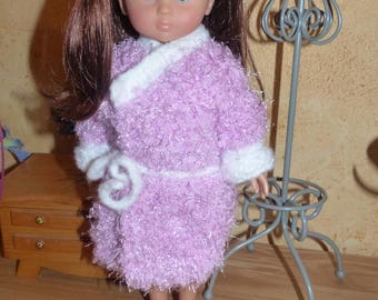 Doll clothes: bathrobe for babies of corolla