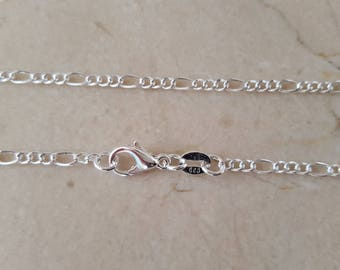 Sterling Silver 925 length: 46 cm + certificate of authenticity