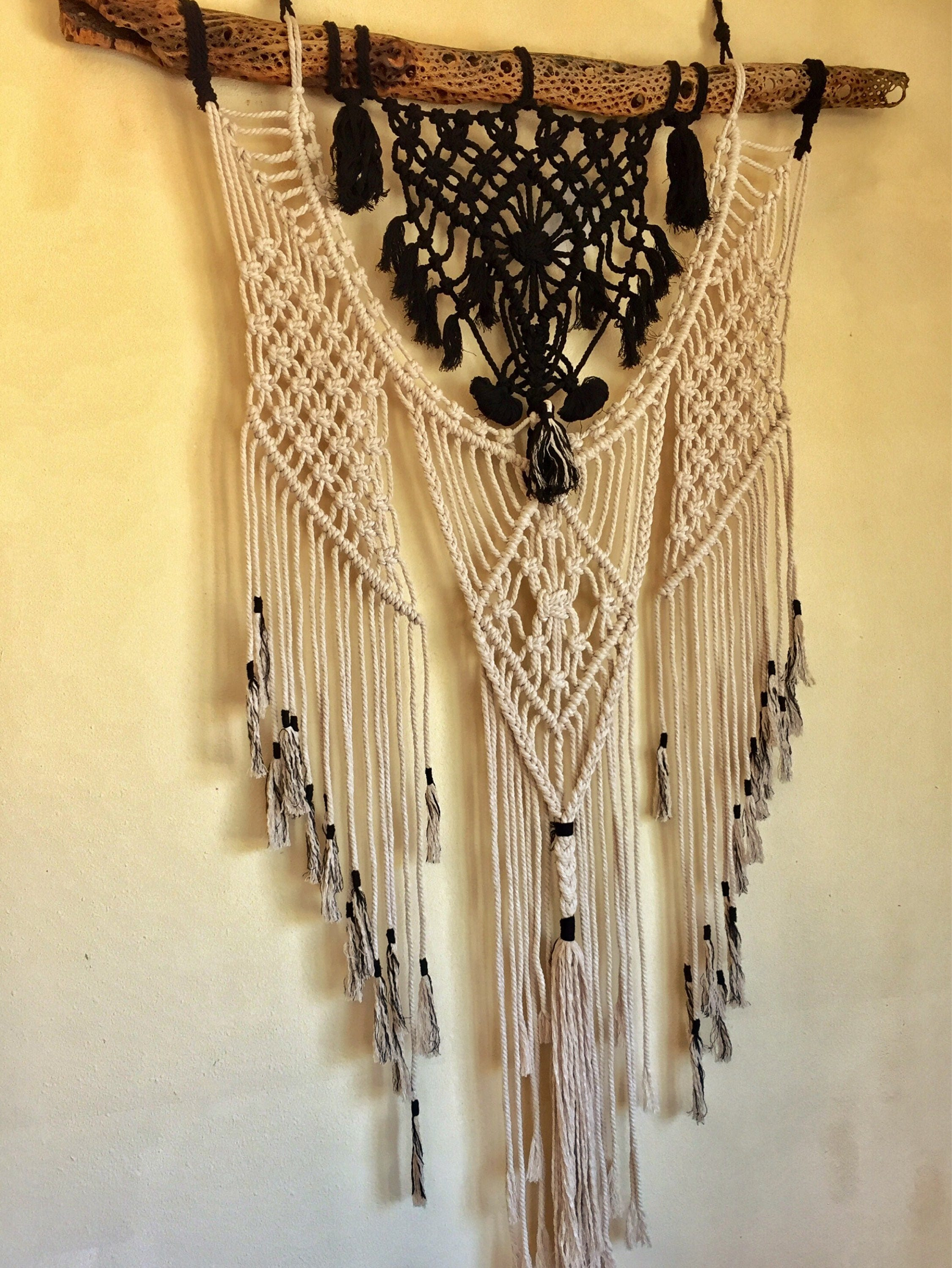 The Eagle is Dreaming // Macrame Wall Art // Divine Wall Design ...