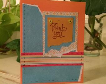 Thank you card/gratitude card/merci beaucoup/gracias/appreciation/law of attraction