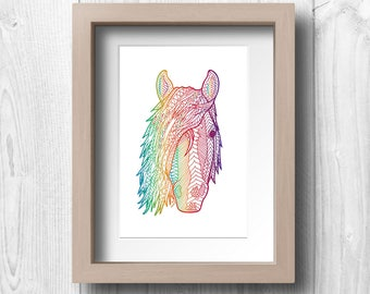 Wild Horse - Printable Wall Art