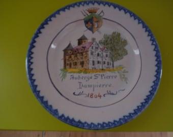 plate cerramique auvillar 19 th Crest Inn st pierre has dampierre 78
