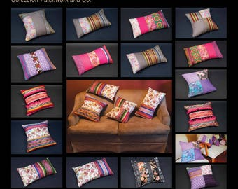 COLLECTION PATCHWORK cushion covers, cushions, tablecloths