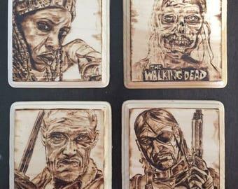 Walking Dead Coasters