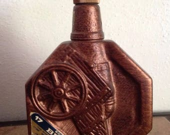 1795 BONDED BEAM Cannon Decanter Empty Liquor Bottle 1962-1970 Collectible