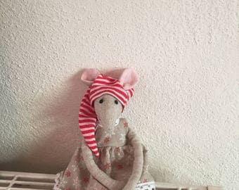Mouse Christmas 24cm
