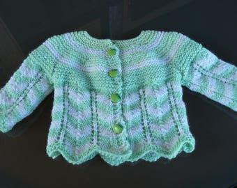Vest or jacket baby birth/3months