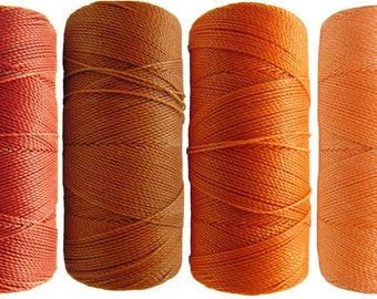 Thread nabbed macrame - Linhasita - Red