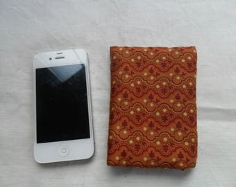 floral cotton iphone Pocket