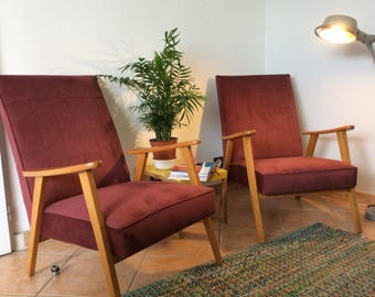 Armchair completely renovated 1970's