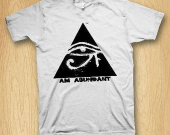 I Am Abundant Men's Crew Neck Graphic Tee