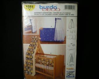 Burda pattern No. deco 1981 crib sets