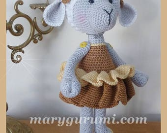 Sheep, Amigurumi crochet plush