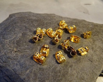 20 Butterfly caps earrings stop quality