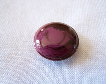 Button making, diameter 18 mm bordeaux (07bor18)