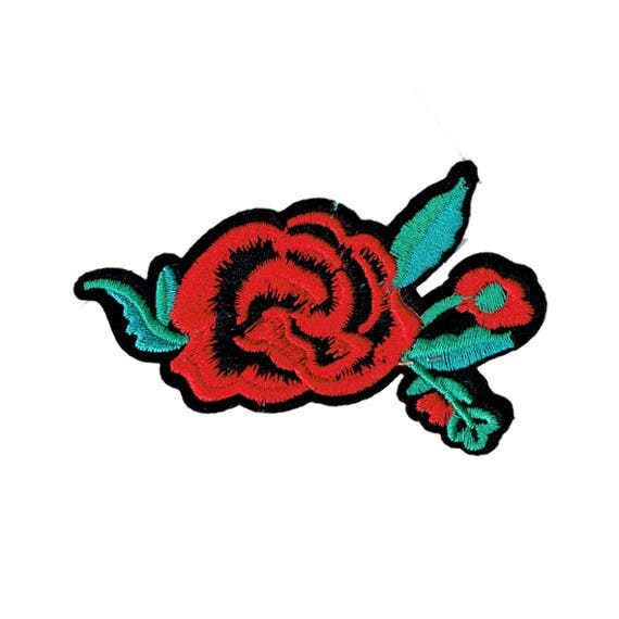 "Patch fusible ""Rose"" pattern"