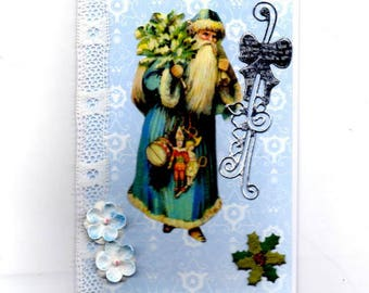 312 - Greeting card for new year celebrations St Nicolas