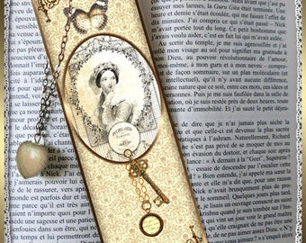"Laminated bookmarks ""Key of secrets"""