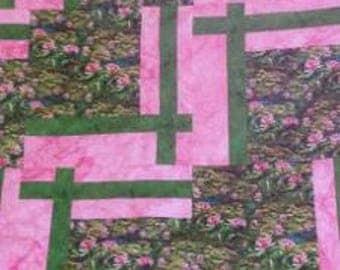 Waterlilies Quilt