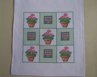 Inspired patchwork cross stitch Embroidery