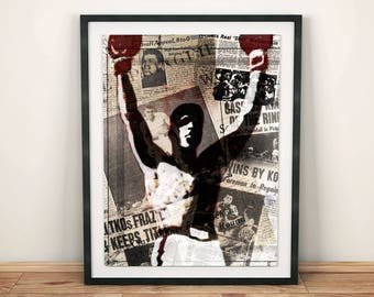Muhammad Ali The Greatest GOAT Boxing Legend