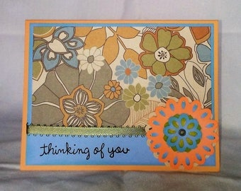 Thinking of You Handmade Greeting Card