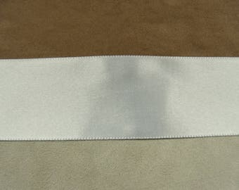 Satin - 4 cm - White Ribbon