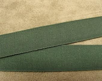 Ribbon-2 cm - green decorative grosgrain